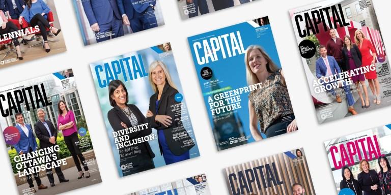 multiple CAPITAL magazine covers